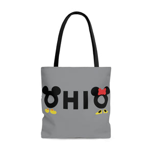 Ohio Loves The Mouse AOP Tote Bag