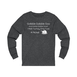Gobble Gobble Jersey Long Sleeve Tee