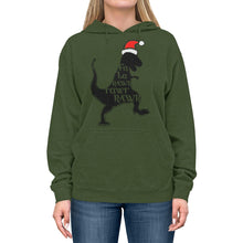 Load image into Gallery viewer, Fa La Rawr Rawr Unisex Lightweight Hoodie