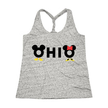 Load image into Gallery viewer, Loves The Mouse Cosmic Twist Back Tank Top