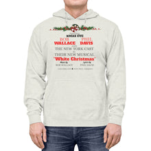 Load image into Gallery viewer, White Christmas Unisex Lightweight Hoodie