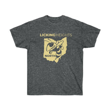 Load image into Gallery viewer, Licking Heights North Adult Unisex Ultra Cotton Tee - Dark