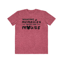 Load image into Gallery viewer, Memories With The Mouse Men's Lightweight Fashion Tee