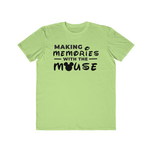 Memories With The Mouse Men's Lightweight Fashion Tee