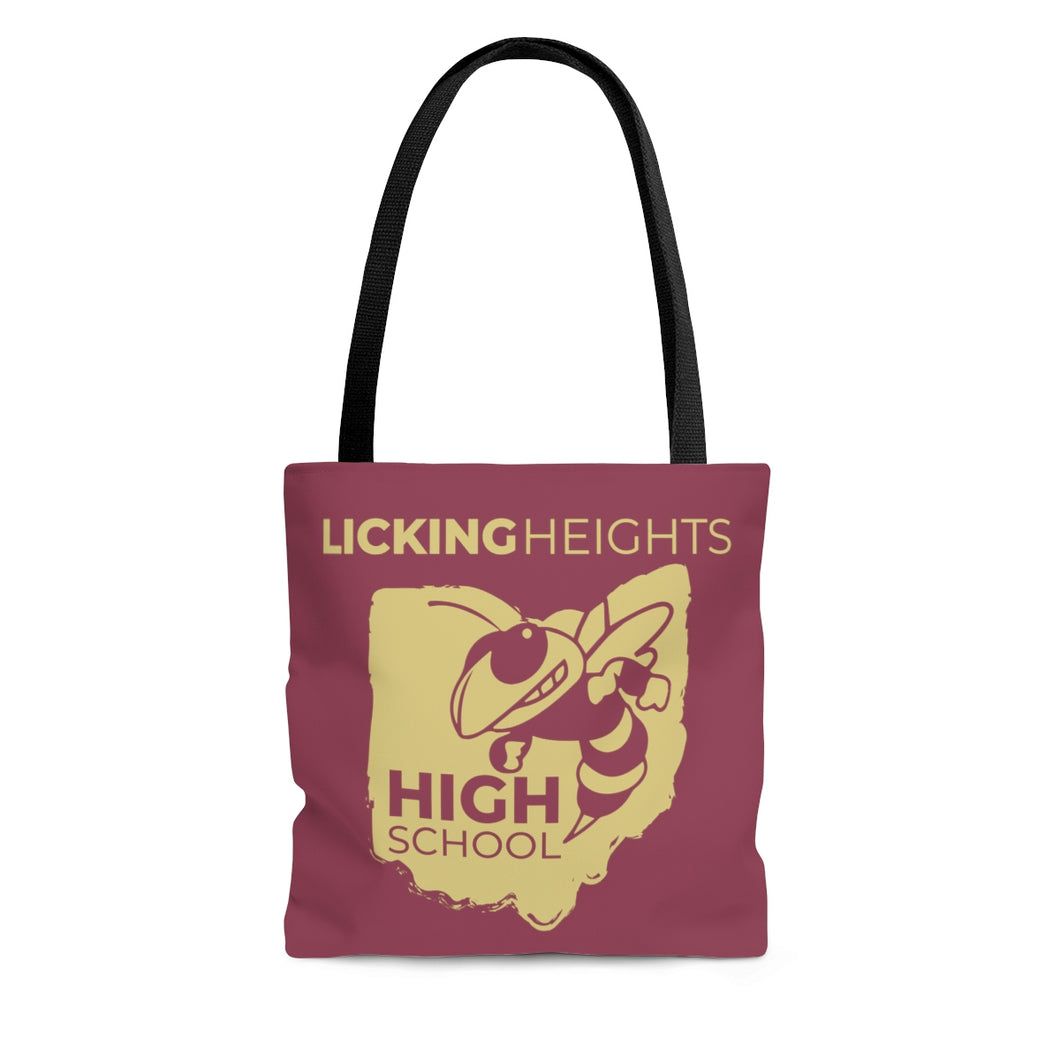 Licking Heights High School AOP Tote Bag