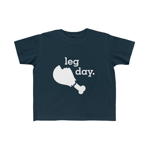 Leg Day Toddler Fine Jersey Tee