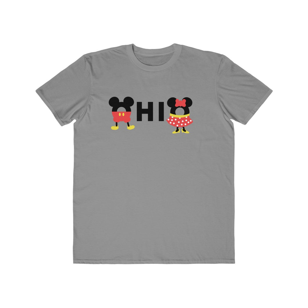 Ohio Loves The Mouse Men's Lightweight Fashion Tee