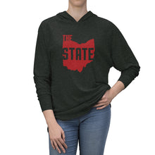 Load image into Gallery viewer, The State Tri-Blend Raglan Hoodie