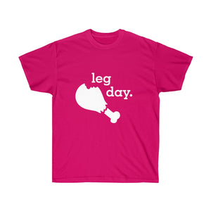 Leg Day  Unisex Ultra Cotton Light Color Tee