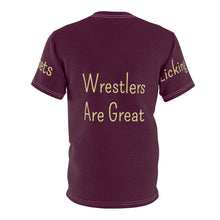 Load image into Gallery viewer, Licking Heights Wrestling Unisex AOP Cut & Sew Tee