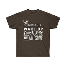 Load image into Gallery viewer, Hornet Life Adult Unisex Ultra Cotton Tee - Dark