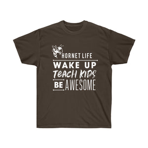 Hornet Life Adult Unisex Ultra Cotton Tee - Dark
