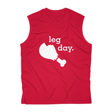 Load image into Gallery viewer, Leg Day Men's Sleeveless Performance Tee