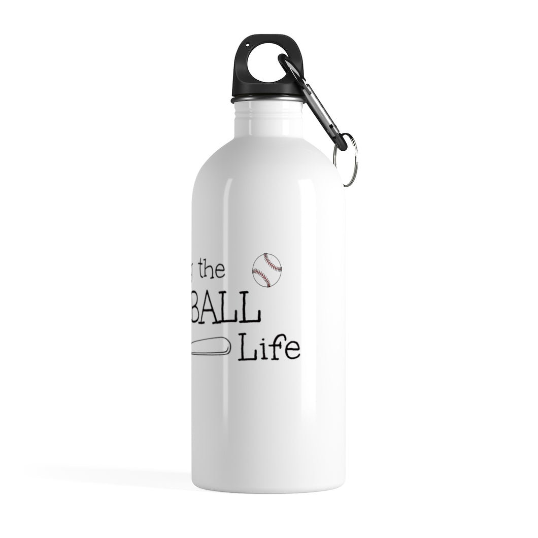 T-ball Life Stainless Steel Water Bottle