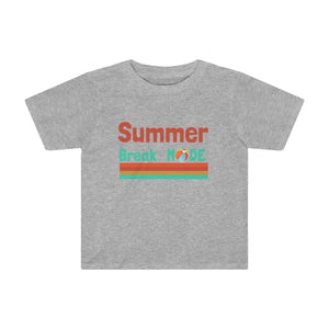 Summer Break Mode Toddler Kids Tee