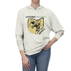 Licking Heights West Tri-Blend Raglan Hoodie