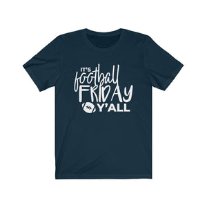 Football Friday  Unisex Jersey Short Sleeve Tee