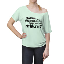 Load image into Gallery viewer, Memories With The Mouse Women's Slouchy top