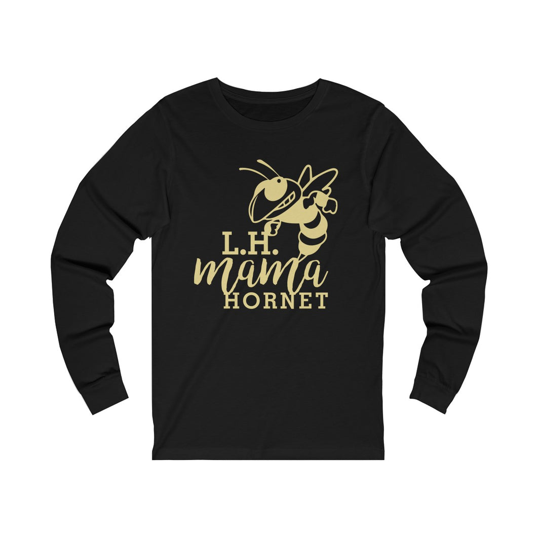 Licking Heights Mama Hornet Unisex Jersey Long Sleeve Tee