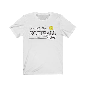 Softball Life Unisex Jersey Short Sleeve Tee