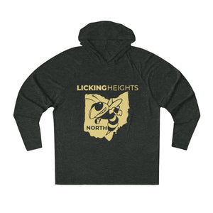 Licking Heights North Tri-Blend Raglan Hoodie