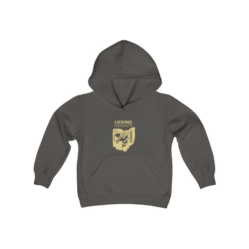 Licking Heights Hornets Kids Heavy Blend Hooded Sweatshirt