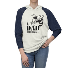 Load image into Gallery viewer, LH Dad Tri-Blend Raglan Hoodie