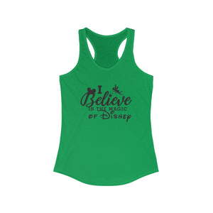 Believe in Disney Magic Women's Ideal Racerback Tank