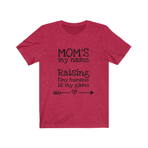 Mom Game Unisex Jersey Short Sleeve Tee