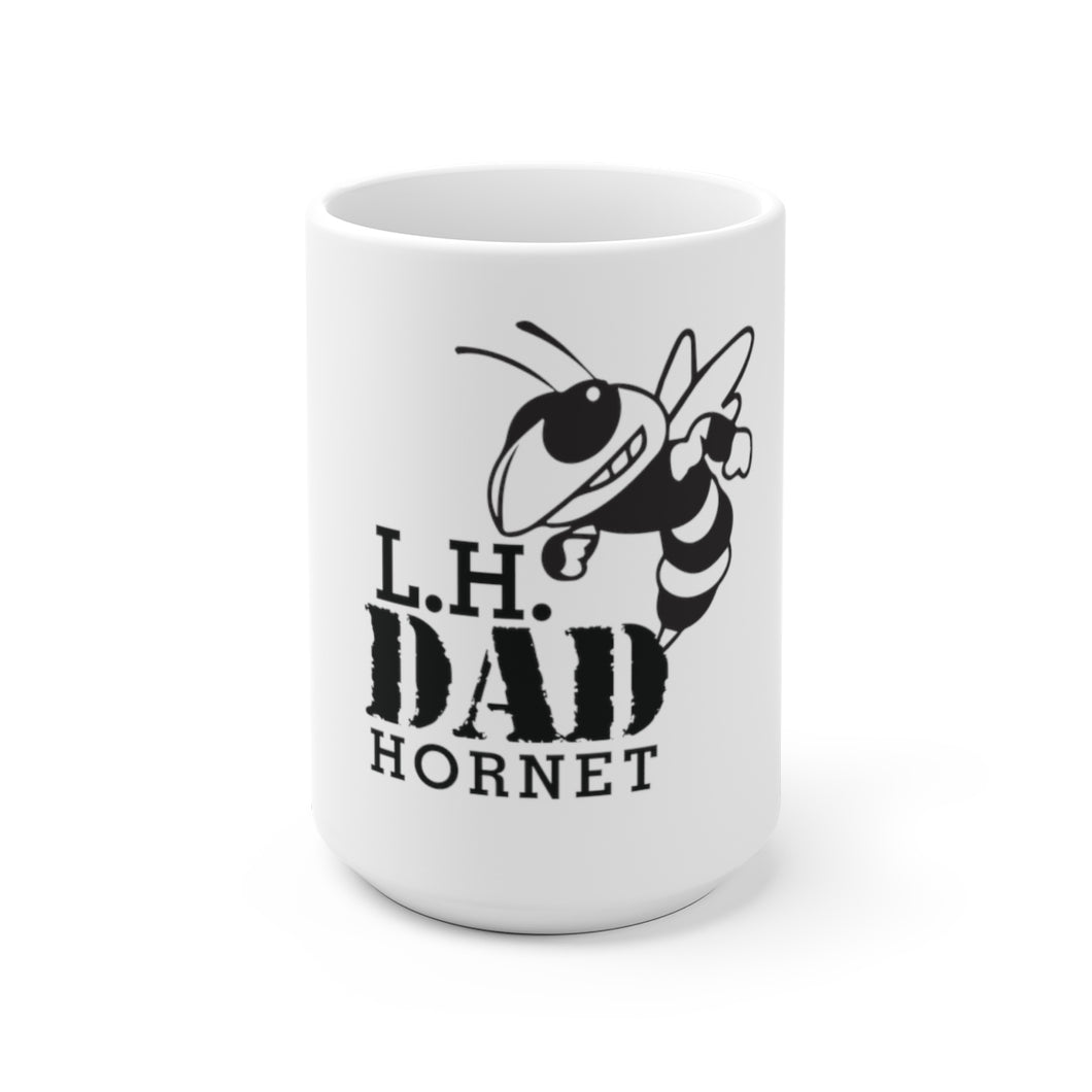 Licking Heights Dad Hornet White Ceramic Mug