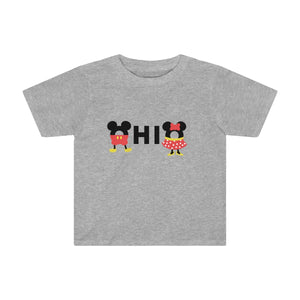 Ohio Loves The Mouse Toddler Kids Tee