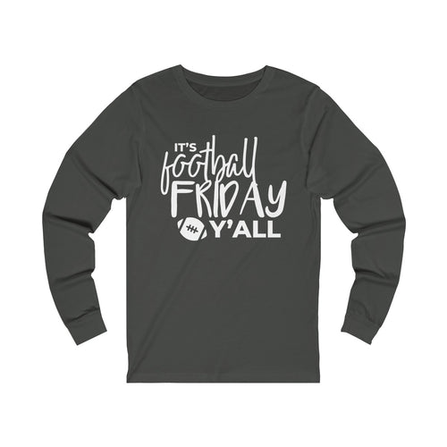 Football Friday Jersey Long Sleeve Tee