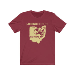 Licking Heights Central Hornet Unisex Jersey Short Sleeve Tee
