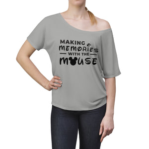 Memories With The Mouse Women's Slouchy top