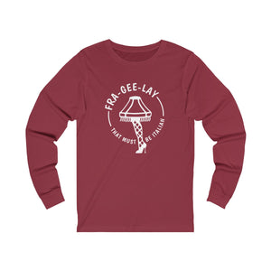 FraGeeLay Unisex Jersey Long Sleeve Tee