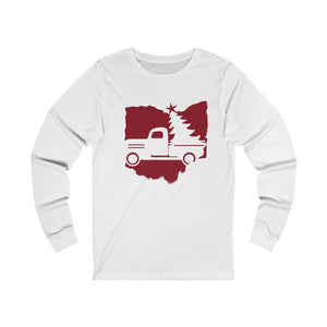 OH Holiday Truck  Unisex Jersey Long Sleeve Tee
