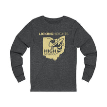 Load image into Gallery viewer, Licking Heights High School Unisex Jersey Long Sleeve Tee