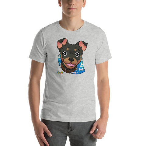 """Mick"" Face Short-Sleeve Men's T-Shirt"