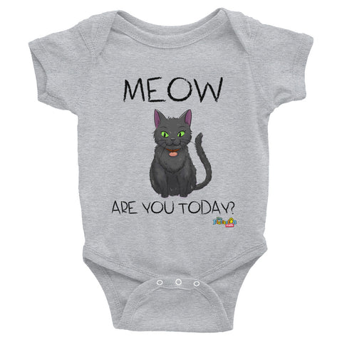 """Meow Are You?"" Onesie"