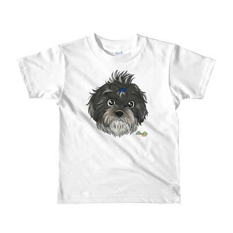 """Phoebe May"" Face Short sleeve kids t-shirt"