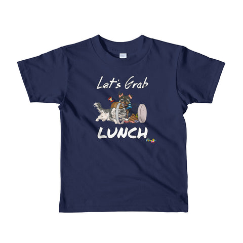"""Let's Grab Lunch"" Short sleeve kids t-shirt"