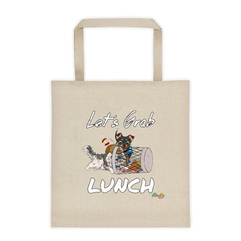 """Let's Grab Lunch"" Tote bag"