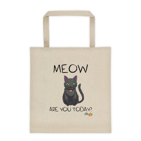 """Meow Are You?"" Tote bag"