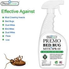 Load image into Gallery viewer, Premo All Natural Bed Bug, Lice & Mite Killer Spray – 24 oz - Natural Non Toxic