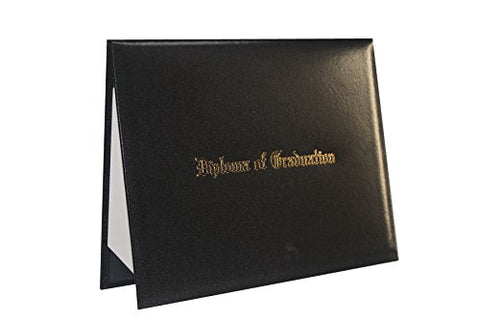 "GraduationForYou Smooth Imprinted ""Diploma Of Graduation"" Certificate Cover 8 1/2"" x 11"""