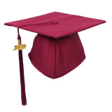 GraduationForYou Unisex Matte Adult Graduation Cap with Tassel 2019