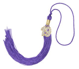 GraduationForYou Academic Graduation Tassel with 19 Gold Bling Year Charm