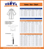 GraduationForYou Unisex Adults Choir Robes Graduation Matte Gown Only