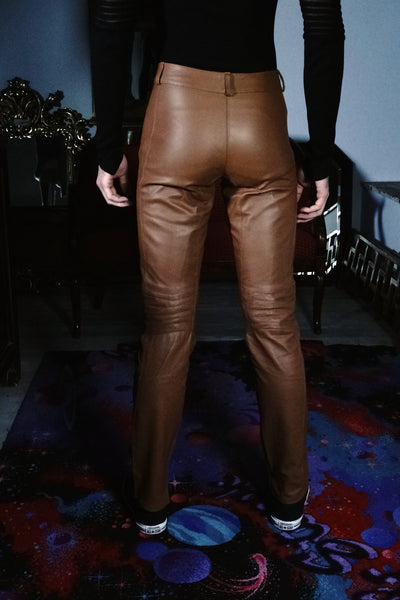 Find tan leather pants at ShopStyle. Shop the latest collection of tan leather pants from the most popular stores - all in one place.