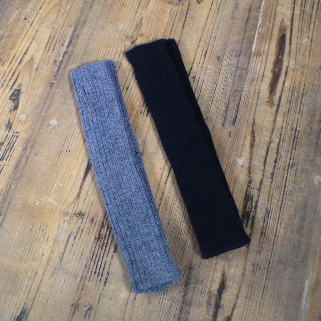 Arm Warmer | Black & Gray